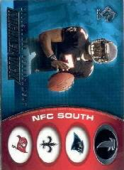2002 Private Stock Divisional Realignment #2 Michael Vick