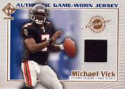 2002 Private Stock Game Worn Jerseys #9 Michael Vick/510*