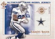 2002 Private Stock Game Worn Jerseys Logos #40 Emmitt Smith/44