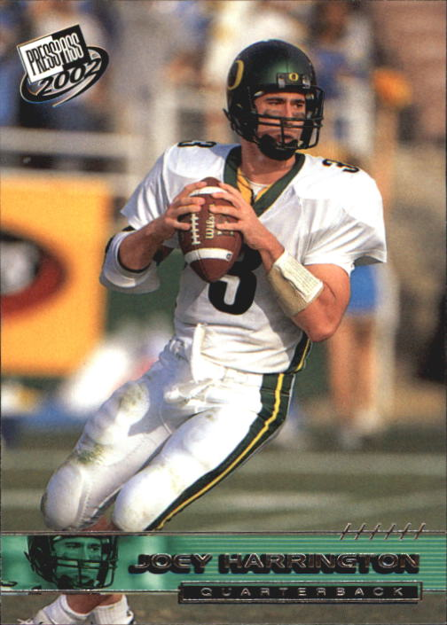 2002 Press Pass #5 Joey Harrington