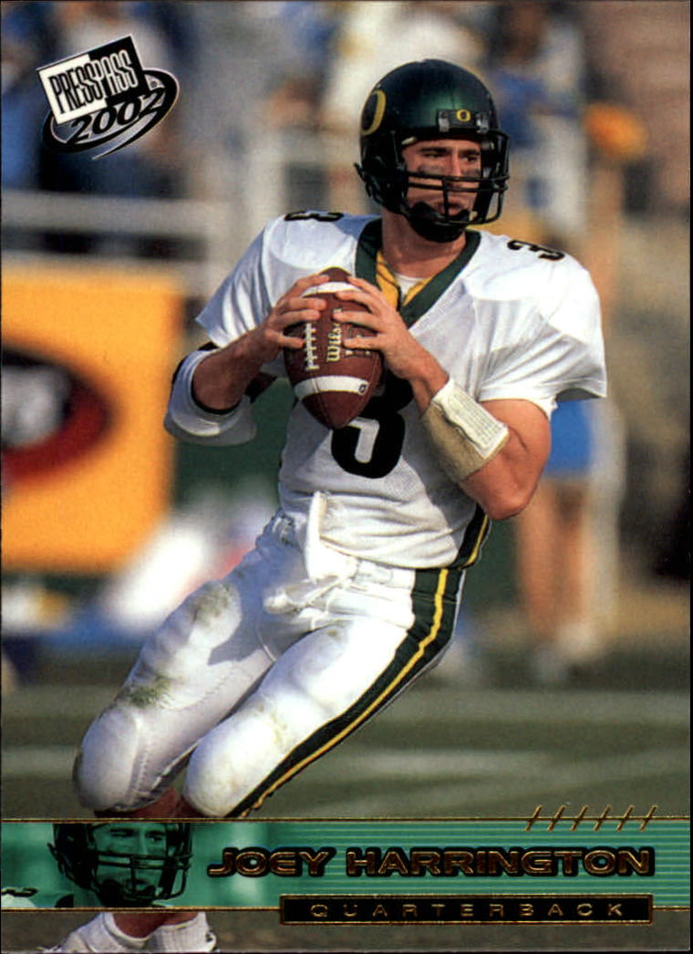 2002 Press Pass Gold Zone #G5 Joey Harrington