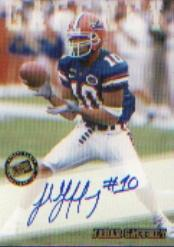 2002 Press Pass Autographs #14 Jabar Gaffney