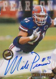 2002 Press Pass Autographs #31 Mike Pearson