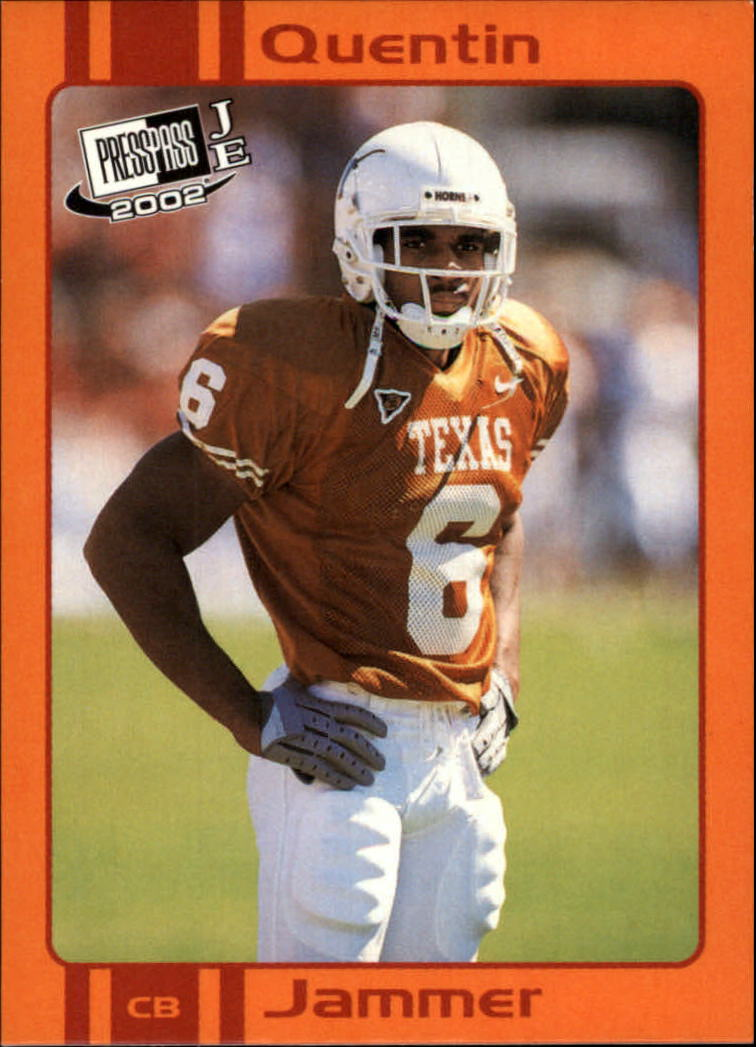 2002 Press Pass JE Old School #OS5 Quentin Jammer front image