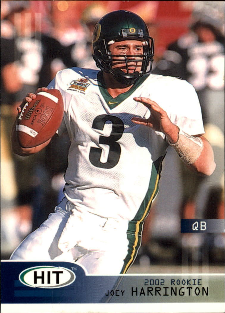 2002 SAGE HIT #3 Joey Harrington
