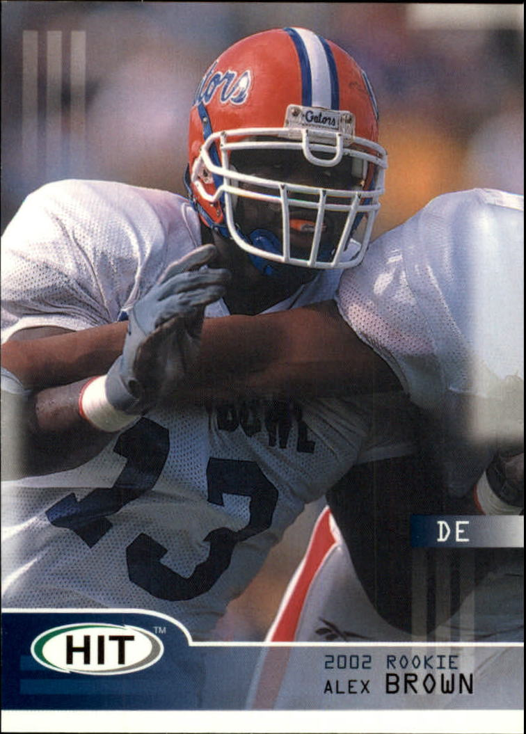2002 SAGE HIT #13 Alex Brown