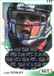 2002 SAGE HIT Autographs Emerald #H32 Luke Staley