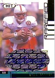2002 SAGE HIT Autographs Rarefied Gold #H7A Eric Crouch QB