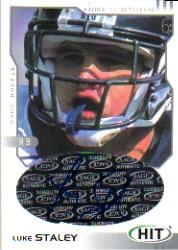 2002 SAGE HIT Autographs Silver #H32 Luke Staley