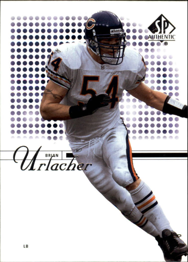 2002 SP Authentic #20 Brian Urlacher