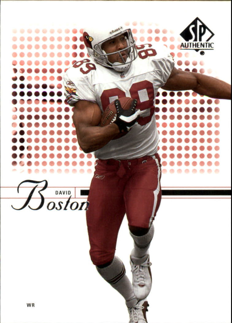 2002 SP Authentic #62 David Boston
