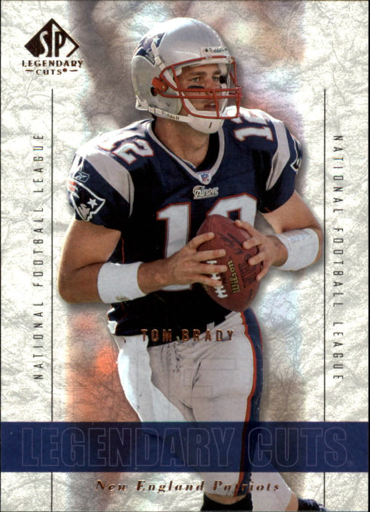 2002 SP Legendary Cuts #1 Tom Brady
