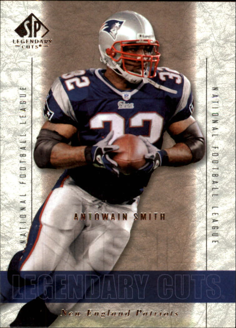 2002 SP Legendary Cuts #2 Antowain Smith