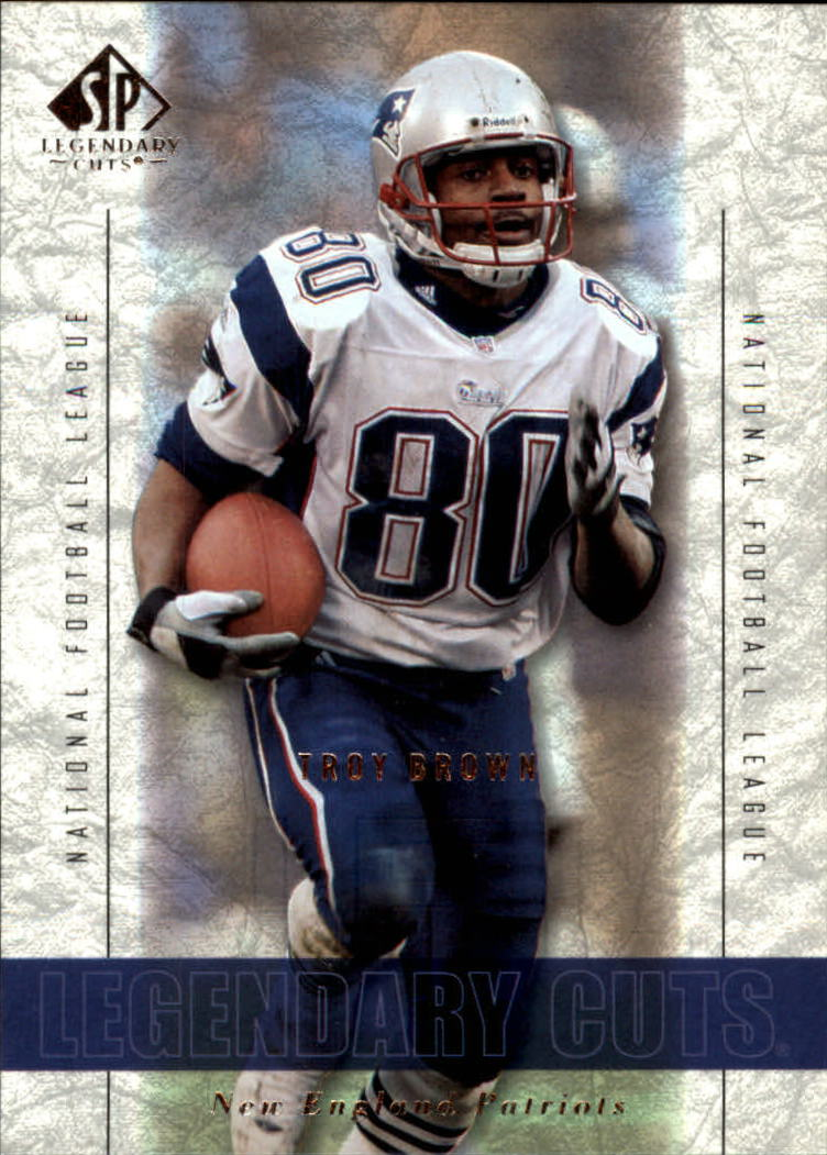 2002 SP Legendary Cuts #3 Troy Brown