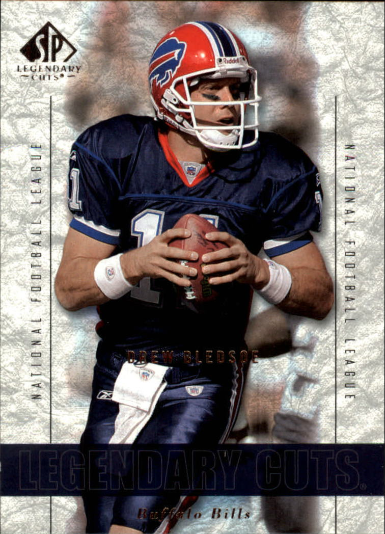 2002 SP Legendary Cuts #4 Drew Bledsoe