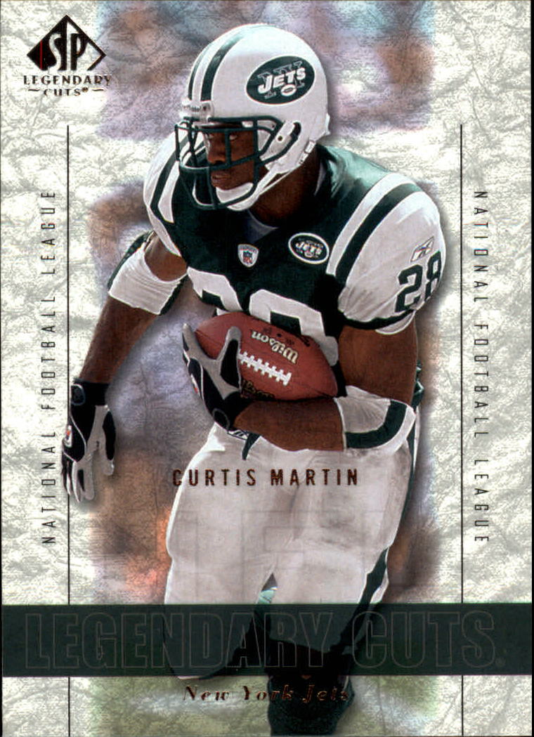 2002 SP Legendary Cuts #10 Curtis Martin