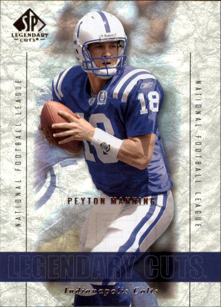 2002 SP Legendary Cuts #22 Peyton Manning