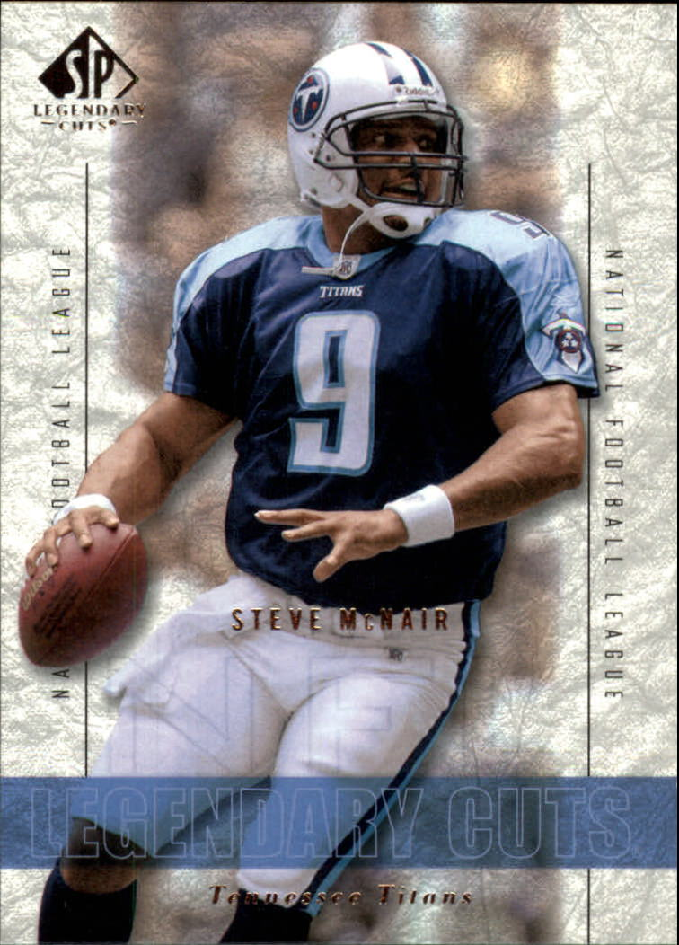 2002 SP Legendary Cuts #30 Steve McNair