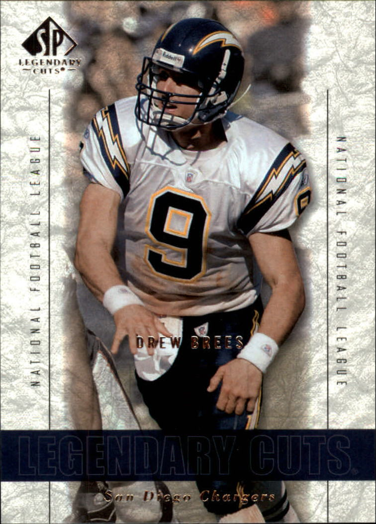 2002 SP Legendary Cuts #45 Drew Brees