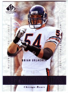2002 SP Legendary Cuts #61 Brian Urlacher