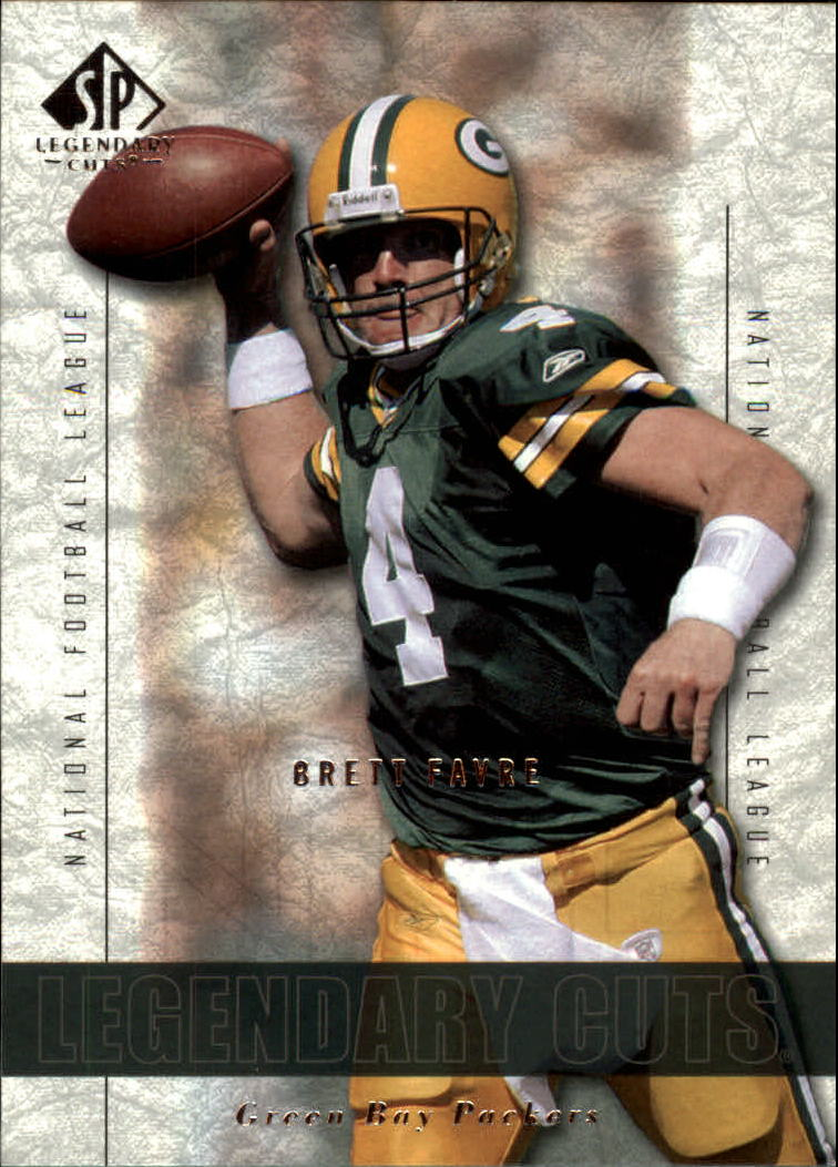 2002 SP Legendary Cuts #62 Brett Favre