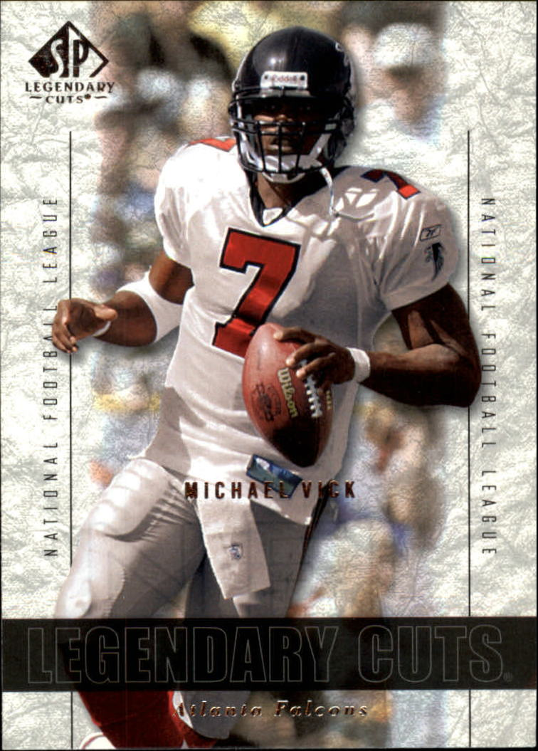 2002 SP Legendary Cuts #73 Michael Vick