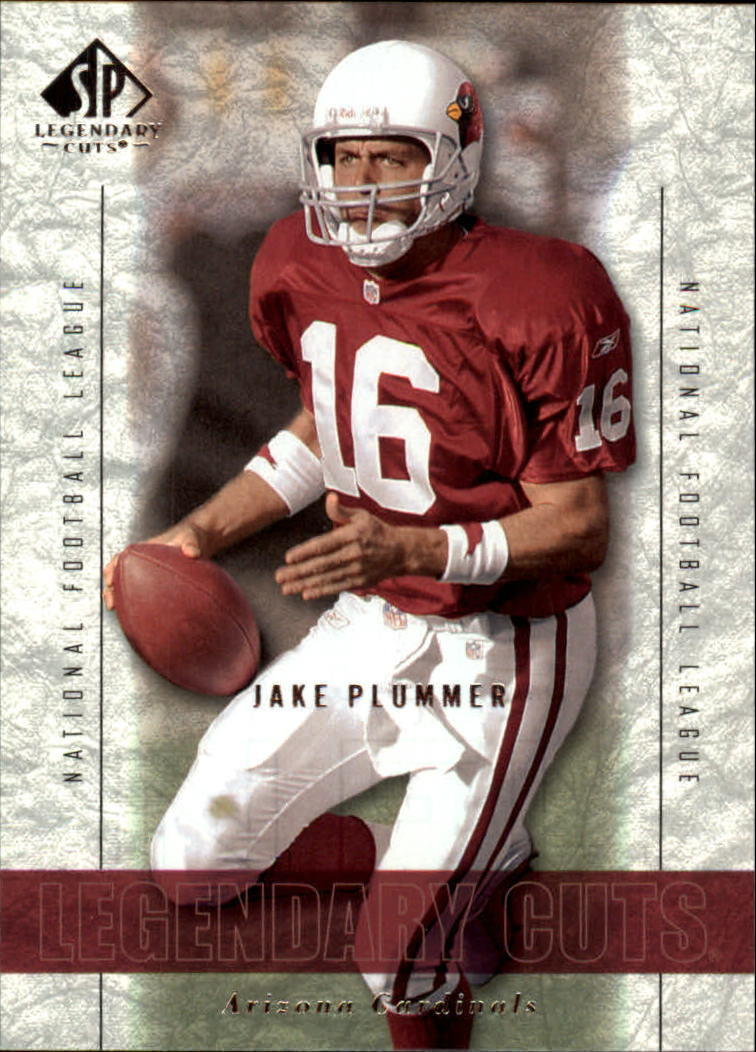 2002 SP Legendary Cuts #87 Jake Plummer