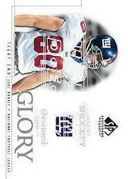 2002 SP Legendary Cuts #134 Jeremy Shockey RC