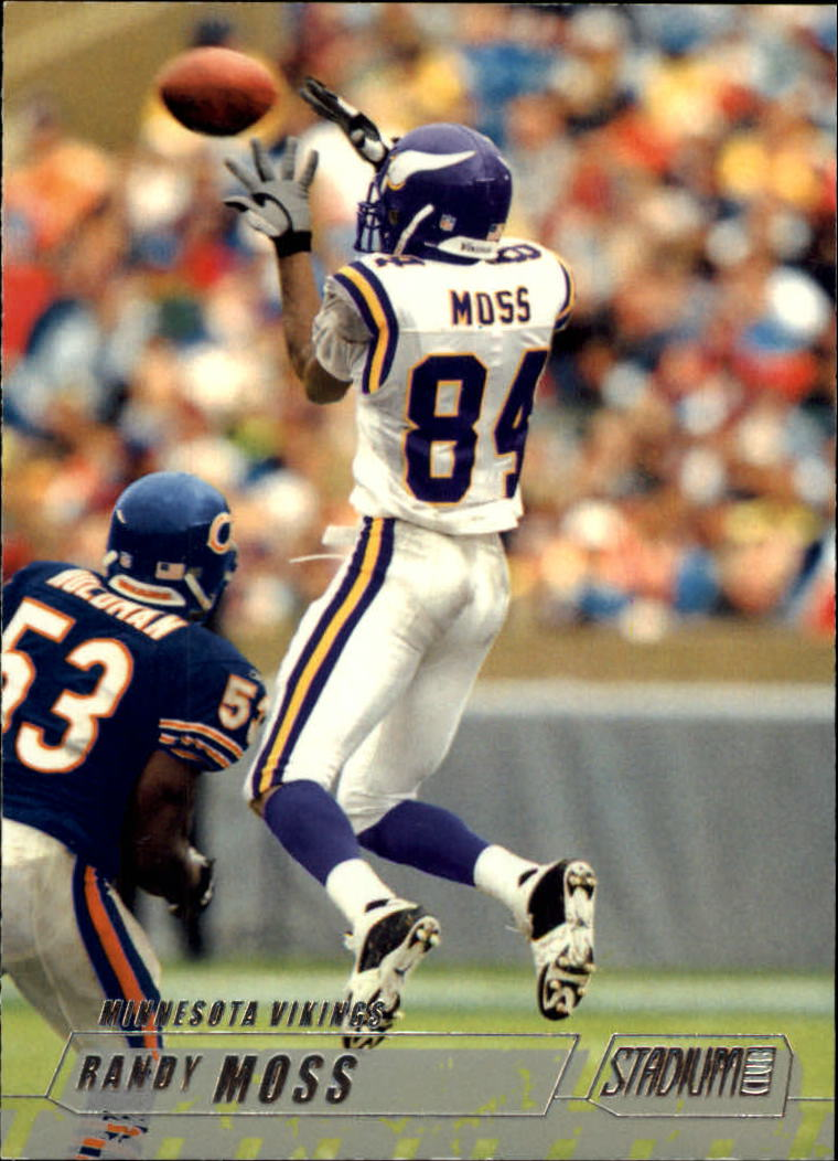 2002 Stadium Club #1 Randy Moss