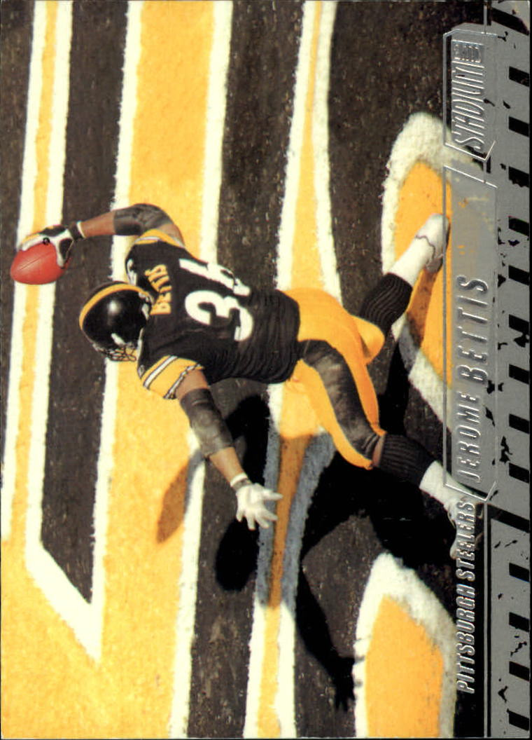 2002 Stadium Club #97 Jerome Bettis
