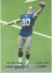 2002 Stadium Club #185 Jeremy Shockey RC