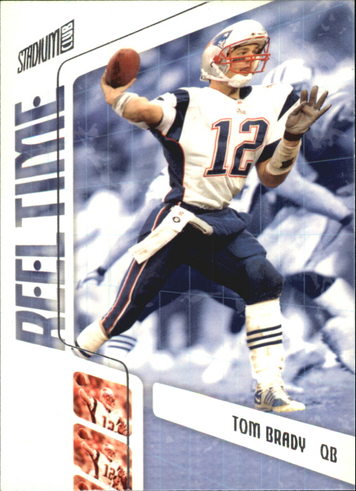 2002 Stadium Club Reel Time #RT13 Tom Brady