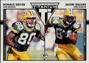 2002 Titanium Retail #127 Donald Driver/Javon Walker RC