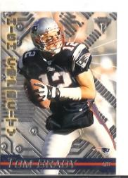 2002 Titanium High Capacity #7 Tom Brady