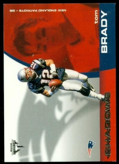 2002 Titanium Shadows #7 Tom Brady