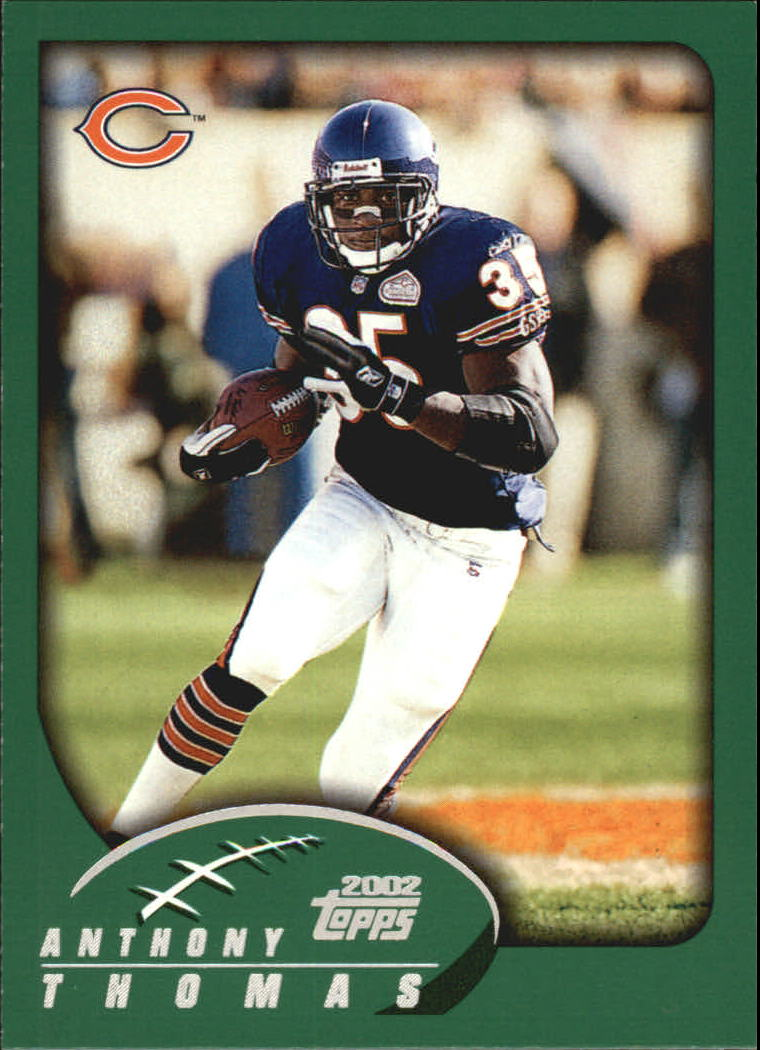 2002 Topps #50 Anthony Thomas