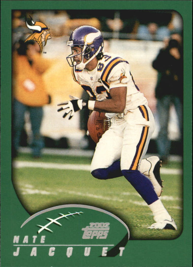 2002 Topps #286 Nate Jacquet