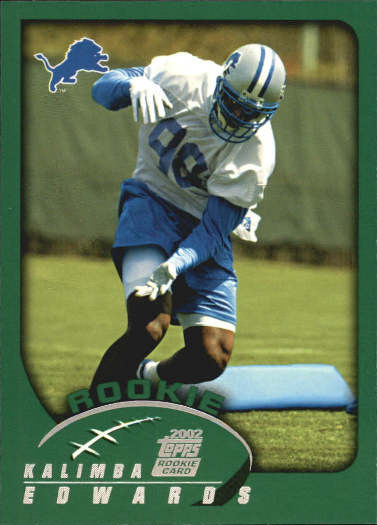 2002 Topps #361 Kalimba Edwards RC