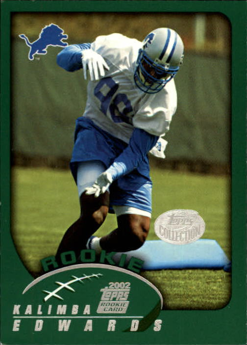 2002 Topps Collection #361 Kalimba Edwards
