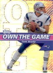 2002 Topps Own The Game #OG7 Tom Brady