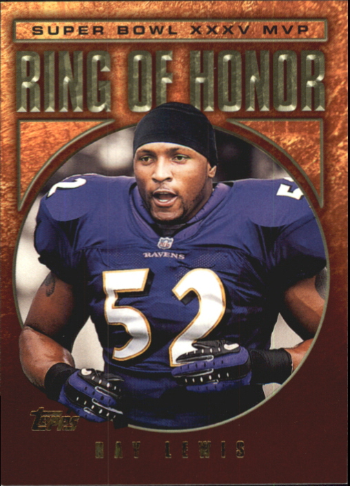 2002 Topps Ring of Honor #RL35 Ray Lewis