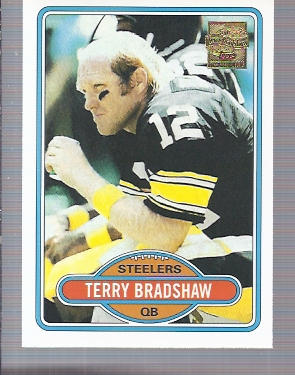 2002 Topps Terry Bradshaw Reprints #10 Terry Bradshaw '80