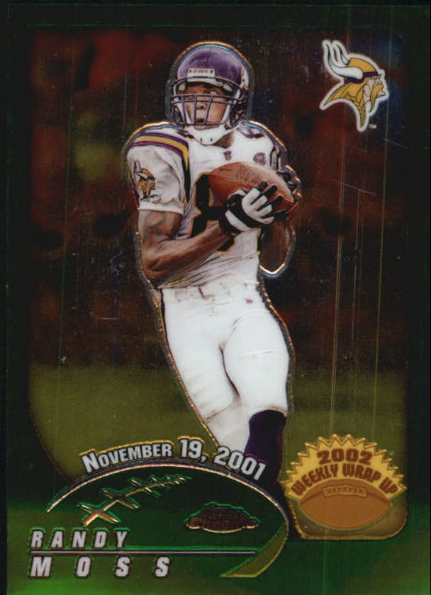 2002 Topps Chrome #155 Randy Moss WW