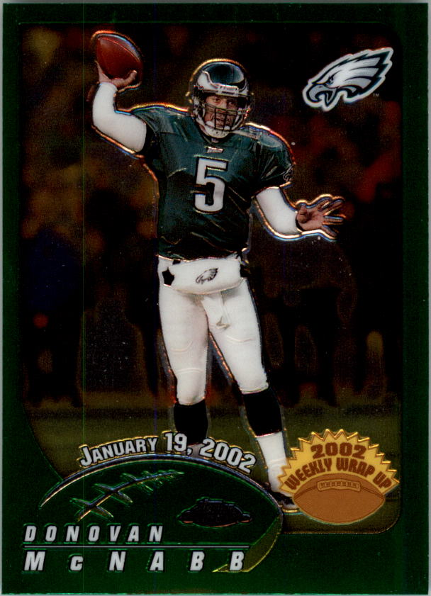 2002 Topps Chrome #164 Donovan McNabb WW