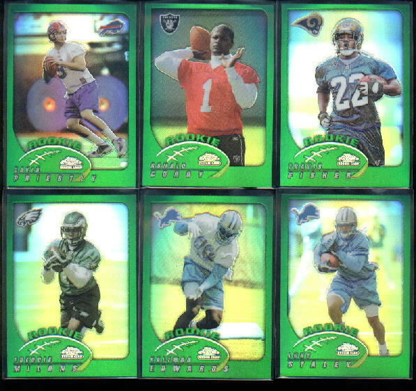 2002 Topps Chrome #216 Kalimba Edwards RC