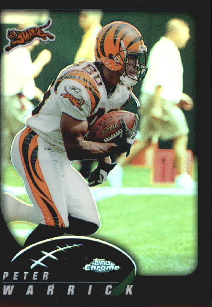 2002 Topps Chrome Refractors #37 Peter Warrick