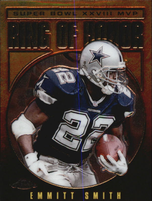 2002 Topps Chrome Ring of Honor #ES28 Emmitt Smith