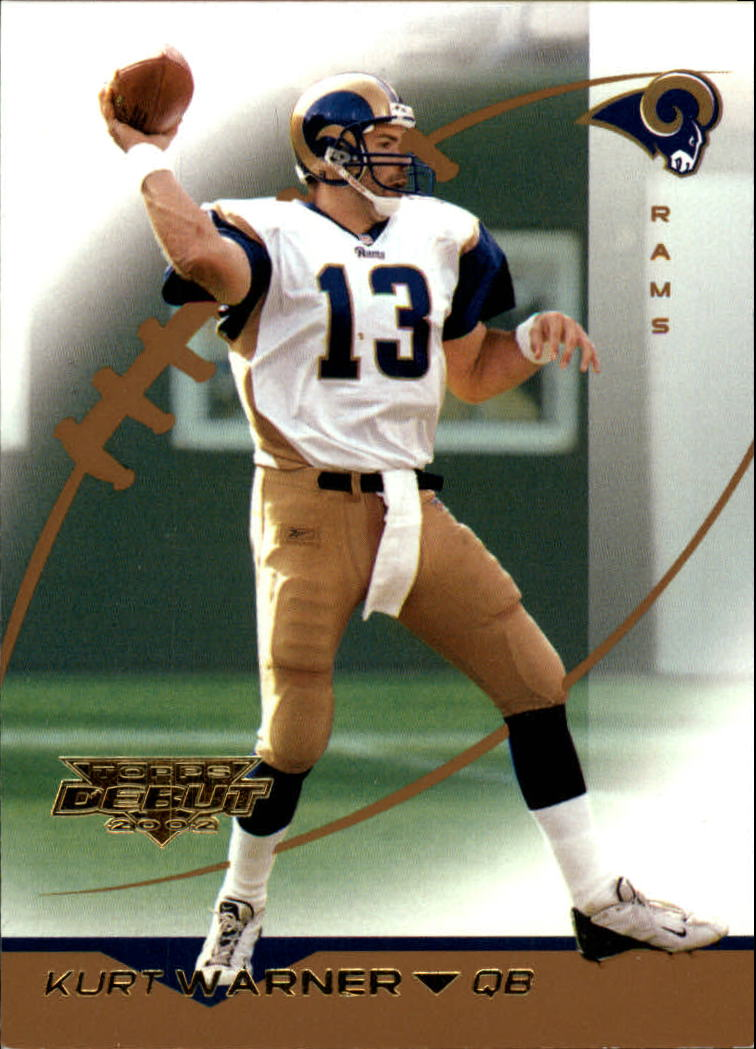 2002 Topps Debut #1 Kurt Warner