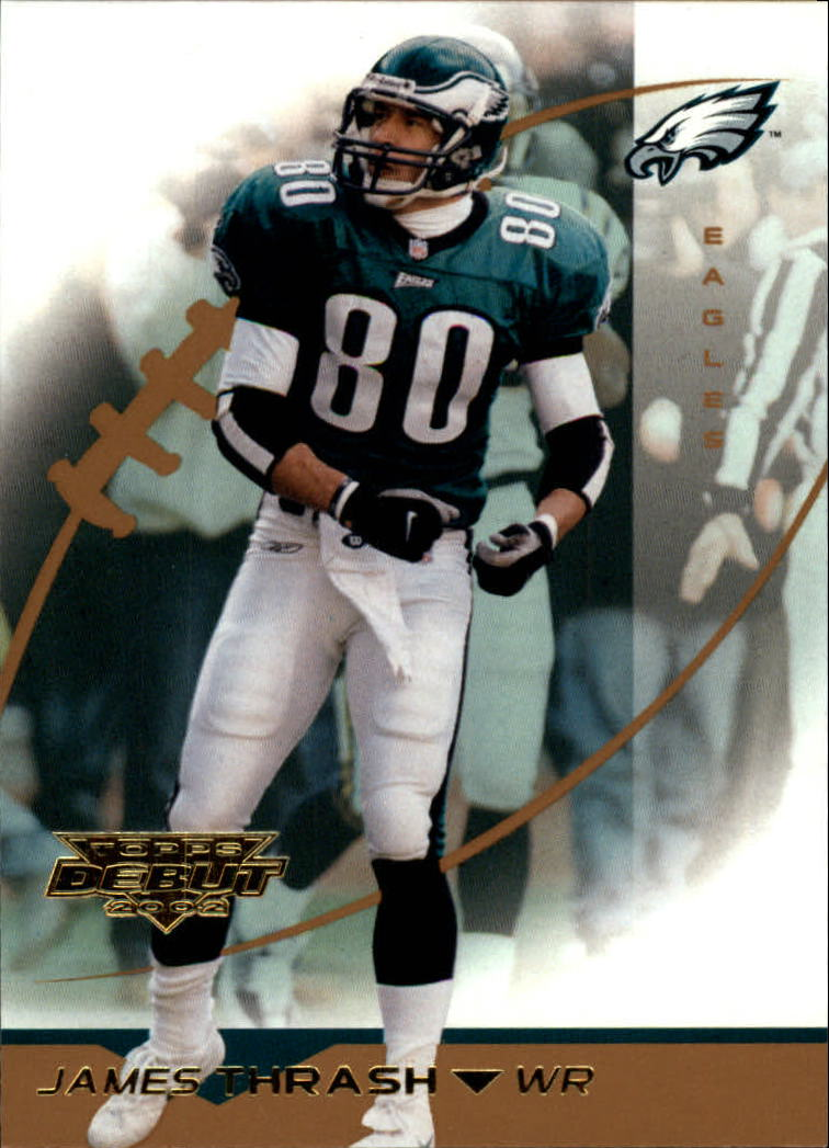 2002 Topps Debut #2 James Thrash