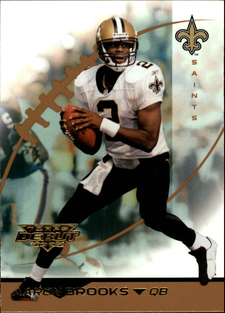 2002 Topps Debut #3 Aaron Brooks